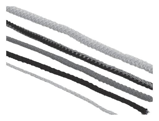 Шнур текстильный 8мм гибкая игла